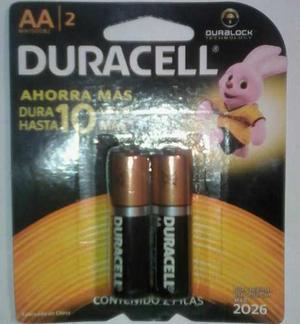 Baterias Duracell Aa Y Aaa Blister De 2 Unds