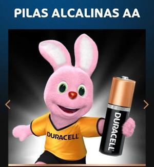 Pilas Alcalinas Duracell Dobl Aa 1.5w Orginales Made In Usa