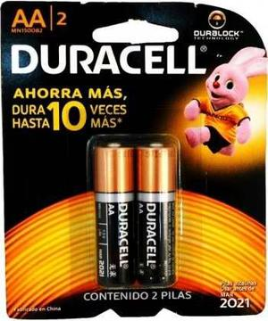 Pilas Duracell Doble Aa