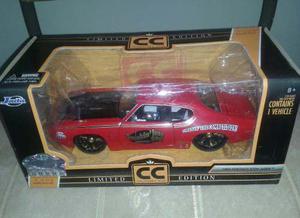 Pontiac Gto Judge  Escala 1/24 Colección Jada Cc En