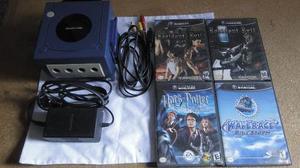 Consola Nintendo Gamecube + Juegos (leer Descripción)