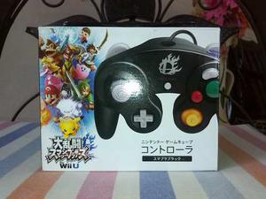 Control Gamecube Wii U Smash Bros Japones Nuevo