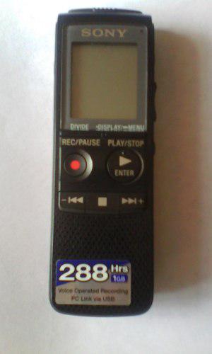 Grabadora Digital Sony Icd-px720(negociable