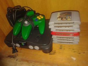 Nintendo 64 Con 1 Control Y 7 Cintas