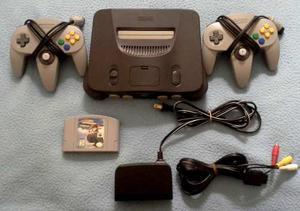 Nintendo 64 Original 2 Controles 2 Juegos W. Race Y S Wars