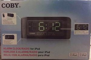 Radio Reloj Despertador Con Alarma Marca: Coby
