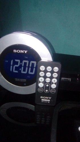 Radio Reloj Despertador Sony, Corneta, Radio, Aux, Ipod
