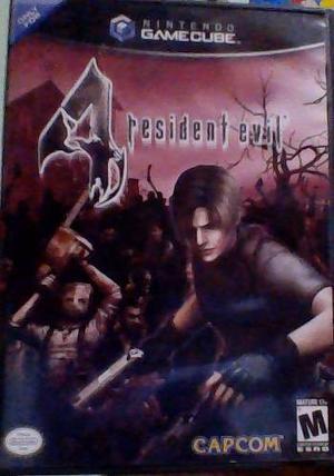 Resident Evil 4 Nintendo Gamecube Para Cambiar Cambio