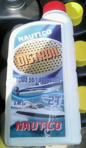 Aceite Nautico Motor Fuera De Borda 2t