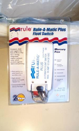 Automatico Bomba De Achique Rule-a-matic Plus Nuevo