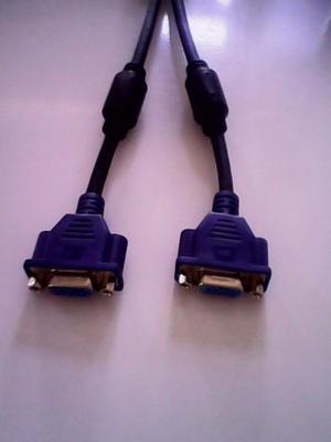 Cable Splitter Vga Svga Macho A 2 Hembra Video Pc