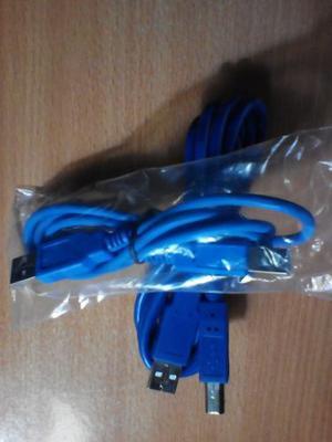 Cable Usb 2.0 Para Impresoras Y Otros 1 Mtr 28 Awg