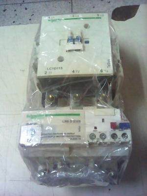 Contactor Schneider Lc1d115 Ajustable De 90 A 150 Amp Nuevo