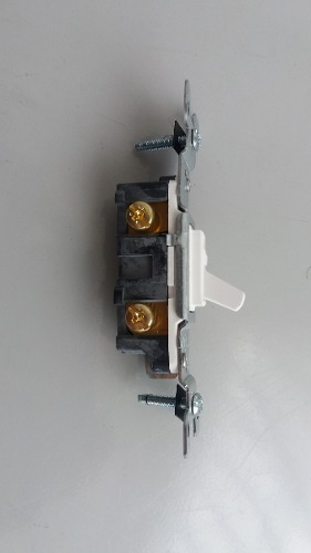 Interruptores, Apagadores Con Tapa, Tipo Sencillos.