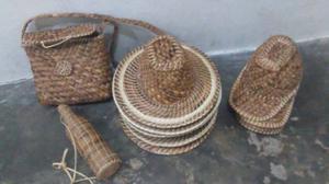 Sombreros Artesanal De Bora Bolsos,botella Muy Buena Calidad