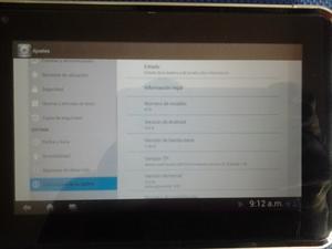 Tablet Zte K75 Vendo O Cambio Por Tlf