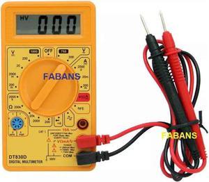 Tester Multimetro Digital Dt830d Voltimetro Nuevo En Su Caja