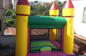 Castillo Inflable 3 X 3 Para Fiestas De Niños. En Venta