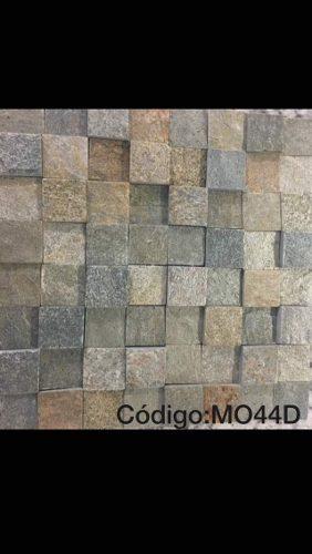 Malla De Mosaico De Piedra Natural Lima Plata