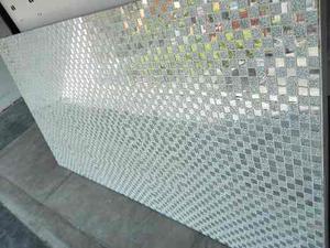 Panel Decorativo Con Mosaico De Espejo