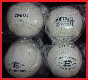 Pelotas De Softball Easton Sb-e120 Originales