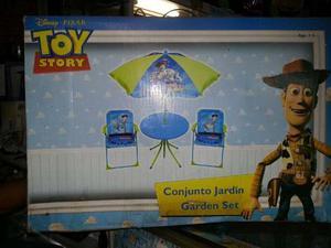 Set De Mesa Con Dos Sillas Para Niños Original Toy Story