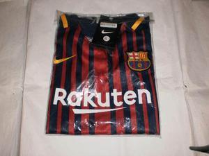 Camisa Franela Barcelona Para Niños