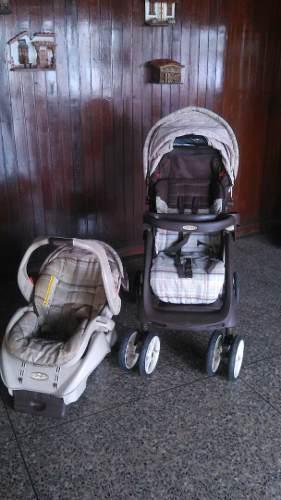 Combo Coche Para Bebé + Portabebé Graco Usado