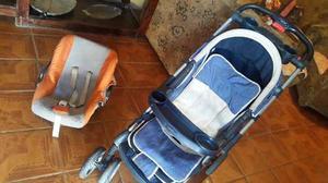 Se Vende Coche Happy Baby Y Porta Bebe Capella