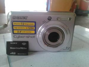 Camara Digital Sony Cyber-shot Modelo Dsc-s Megapixe