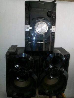 Cambio Equipo De Sonido Panasonic Sa Akx34 Con Detalle