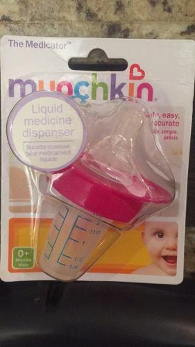 Chupon Dispensador De Medicina Munchkin