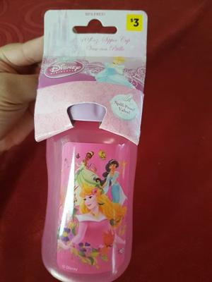 Vaso Con Pico De Las Princesas Disney 10 Onzas