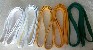 Cinturones De Karate Usados