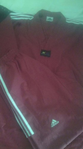 Uniforme Dobok adidas Original Edicion Especial Rojo