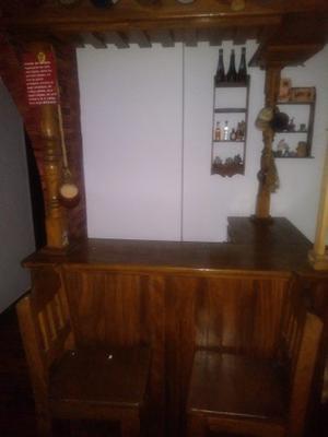 Bar De Madera Country