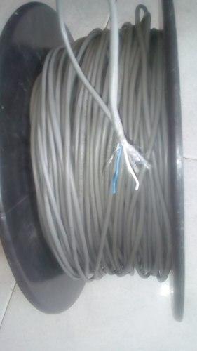 Cable De Teléfono Gris Rj11 2 Puntas.