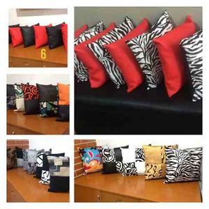 Cojines Decorativos Modernos De 40 X 40 Rellenos De Plumilla