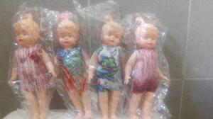 De Colección Munecas De Plástico Inflado De Los 80 Nueva V