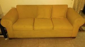 Juego De Recibo Doble Sofa Tela