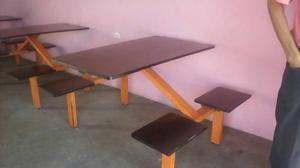 Mesas Con Sillas Para Restaurat.