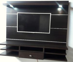 Mueble Aereo Para Tv De 42 En Melamina Color Wengue
