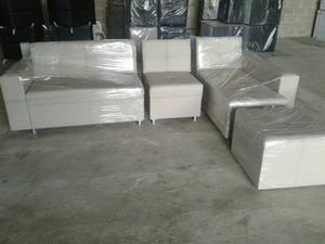 Muebles Graterol Tapizado En Semi Cuero