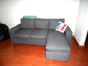 Muebles Modulares Modernos En Tela. Sin Detalles.