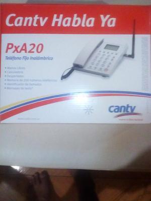 Telefono Fijo Inalambrico Axesstel Habla Ya Pax20