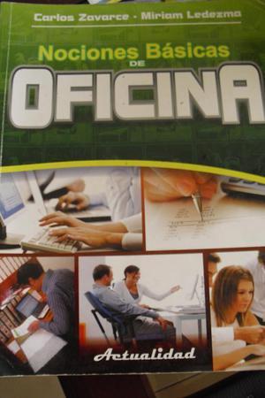 Libro nociones b sicas de oficina autor jes s a posot class for Nociones basicas de oficina concepto