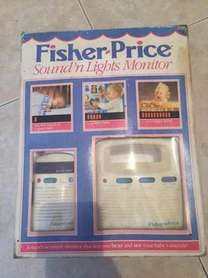 Monitor Radio Transmisor Para Bebés Fisher Price