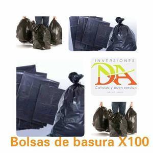 Bolsas Negras De Basura Calibre 12 Y Calibre 14