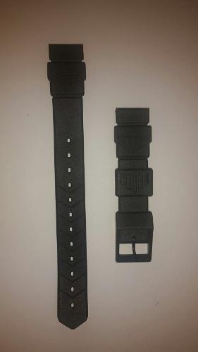 Correa Reloj Tag Heuer Original Color Negra