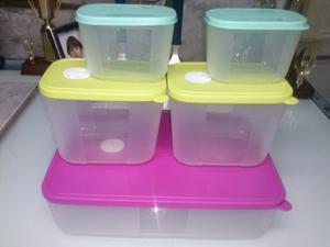 Envases Tupperware,ensaladera,vasos, Platos, Jarras, Envases